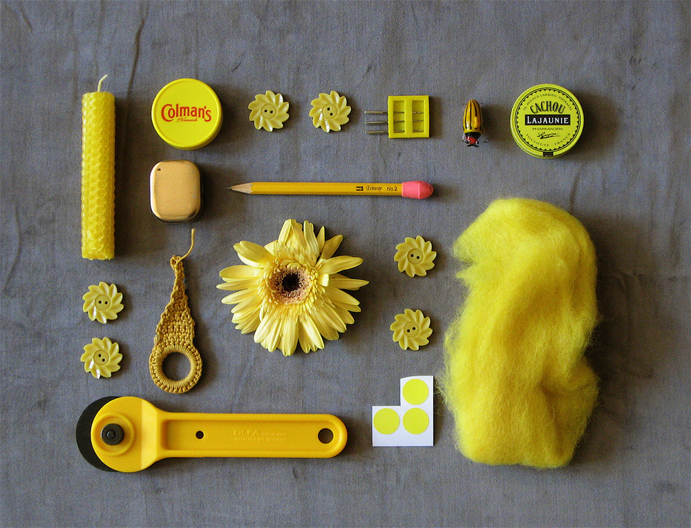 Yellow by Bricolagelife.