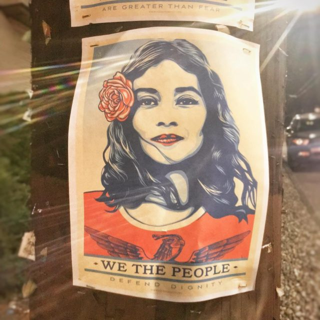 WeThePeople Defend Dignity by obeygiant seattle capitolhill