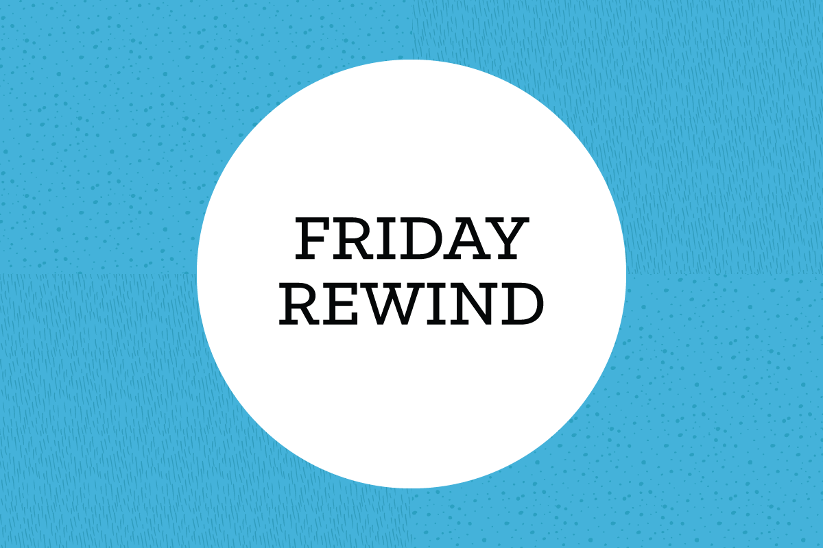 Friday Rewind - The Week in Links