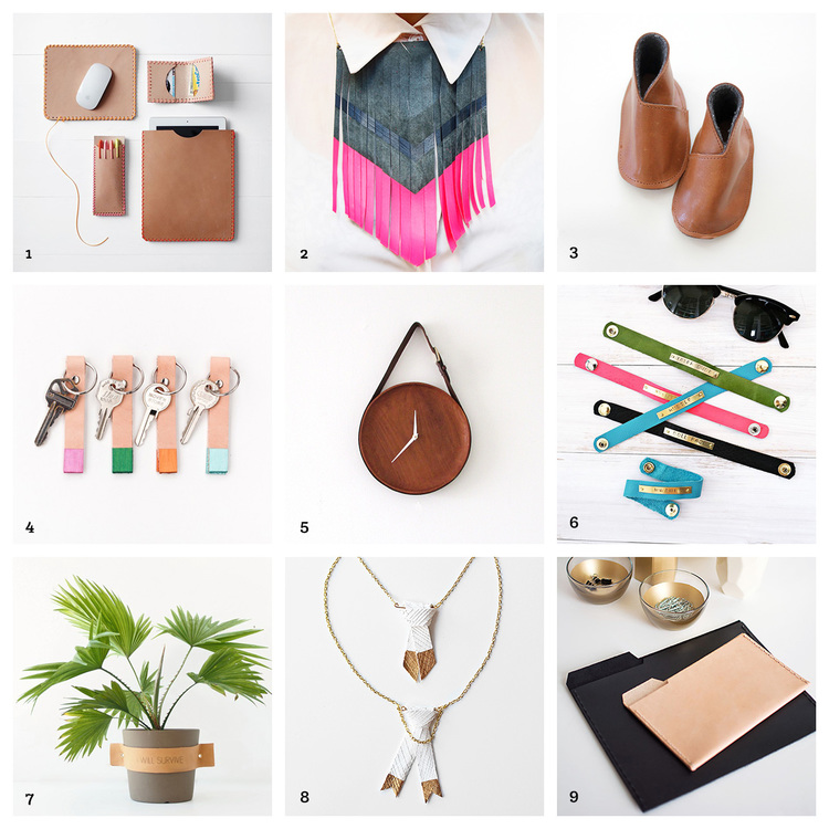 DIY Leather Craft Roundup