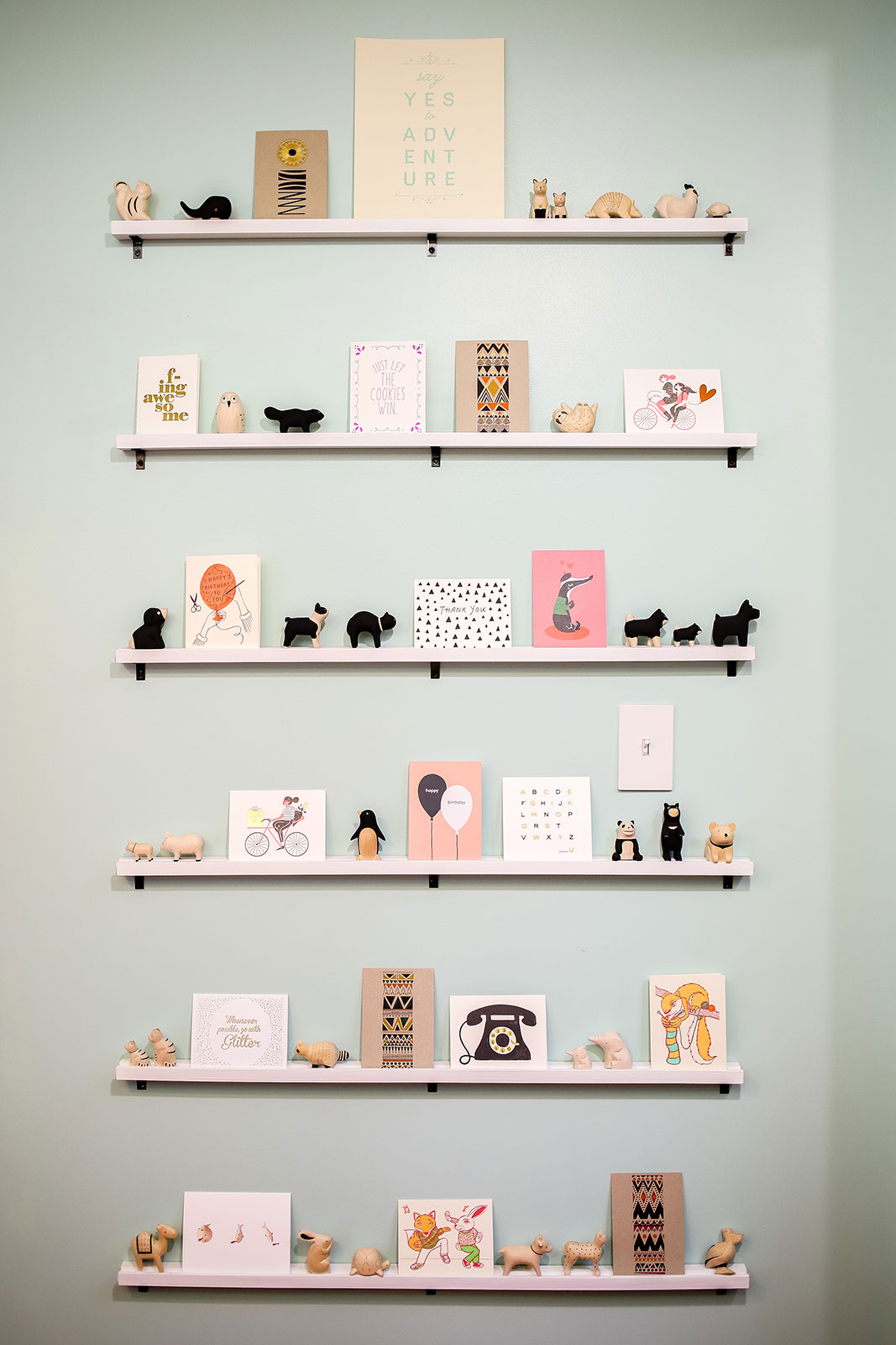 Craft Room Makeover - Stationery Display