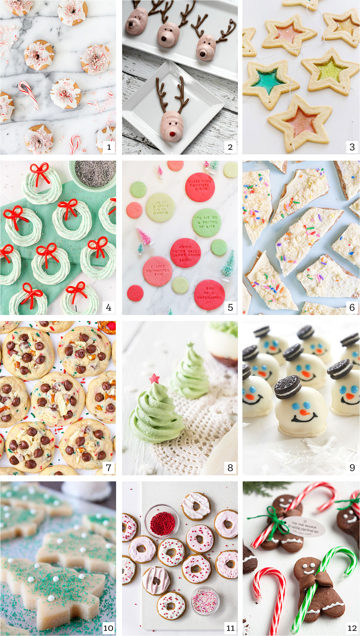 Saturday Roundup - Holiday Sweets + Treats - tinsel + trim