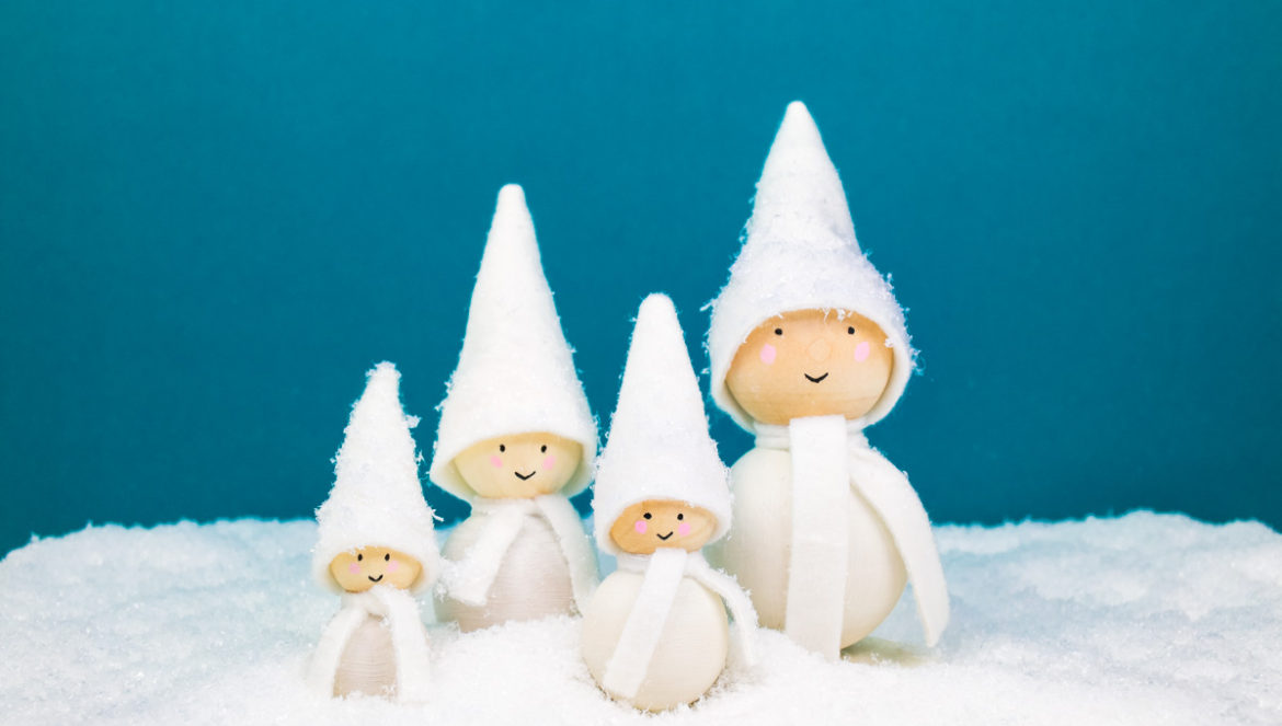DIY Holiday Tomte Family