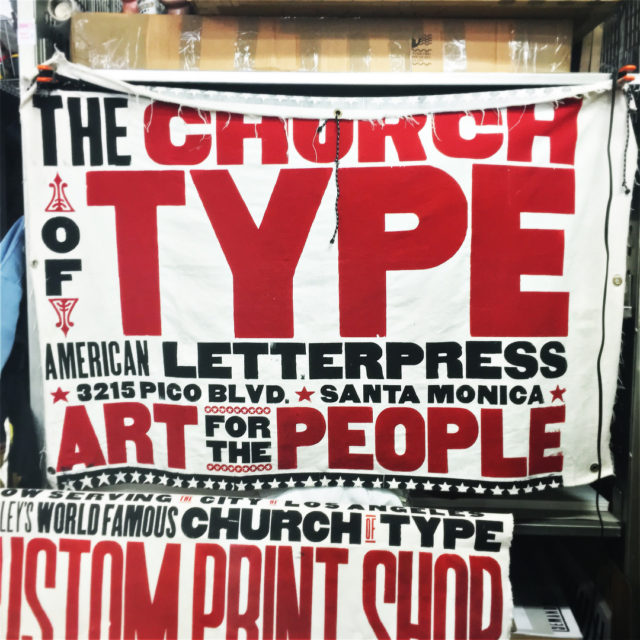 Lecture and tour by amazing oneofakind type designer Kevin Bradleyhellip