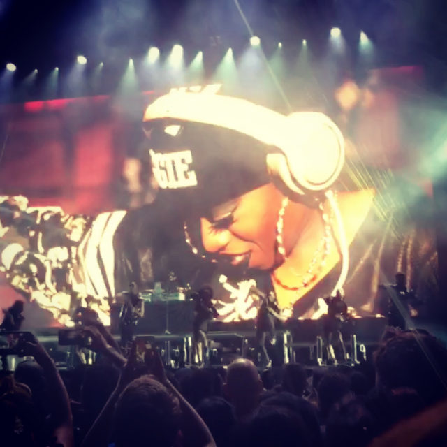 Unstoppable fierce Missy Elliott in concert for the first timehellip
