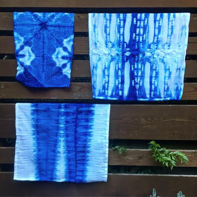 Officially addicted to shibori Thanks for hosting a great crafthellip