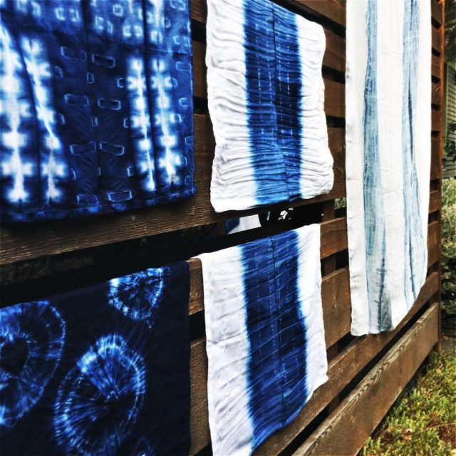 Another weekend of Shibori