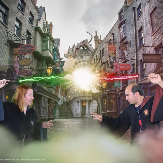 And one more from The Wizarding World of Harry Potter