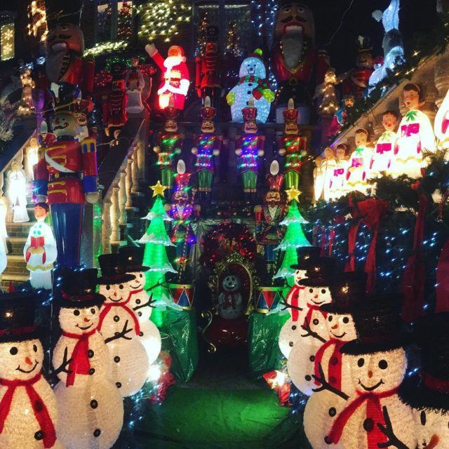 Finally made it to Dyker Heights to see all thehellip