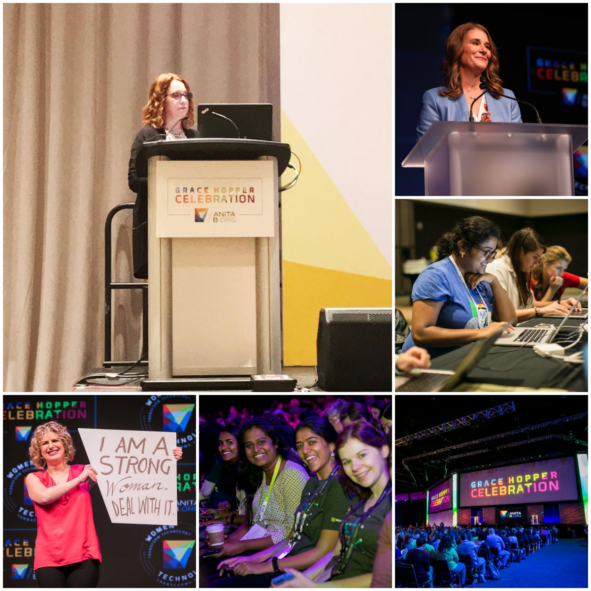 Photos from Grace Hopper Conference 2017