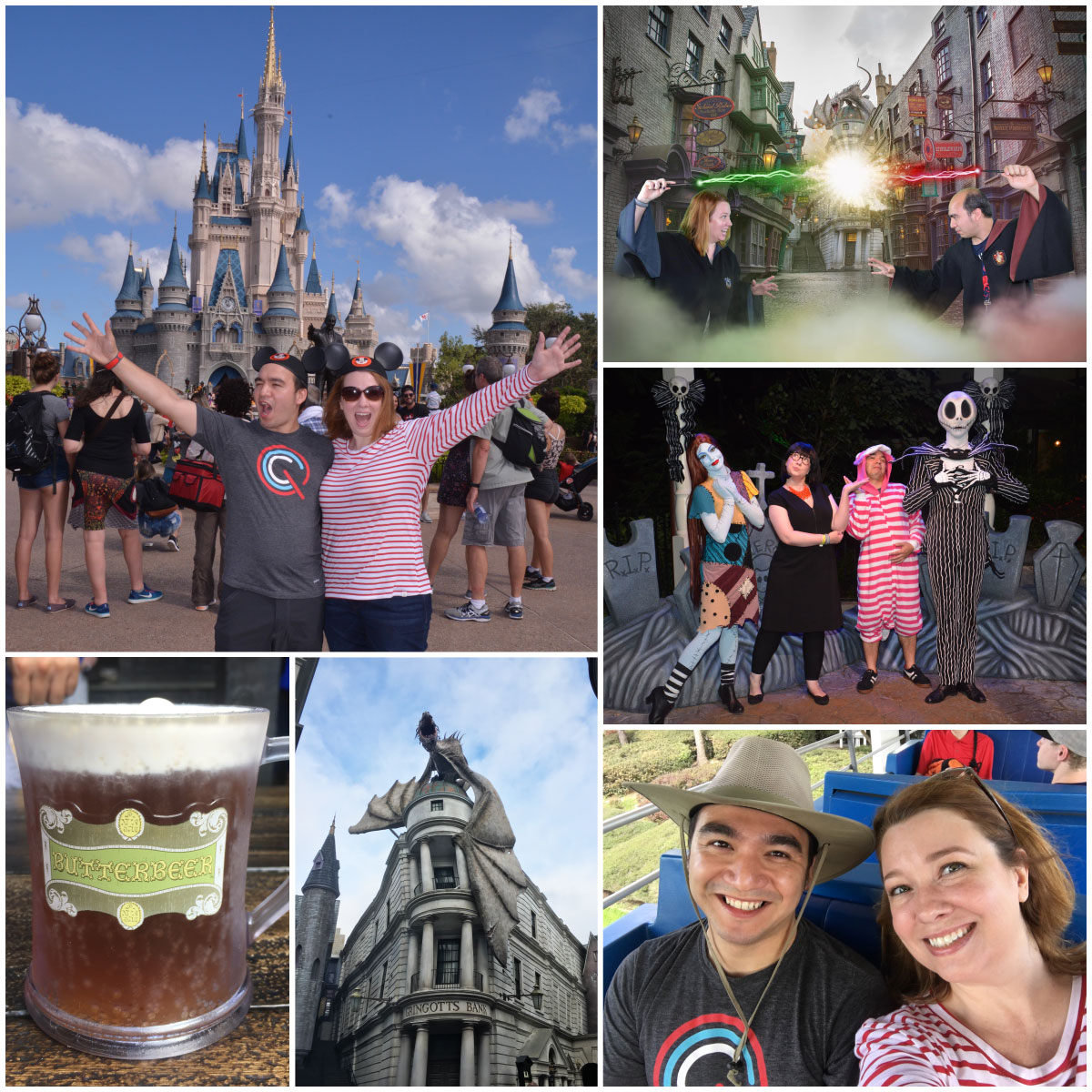 Photos from Disney World and the Wizarding World of Harry Potter