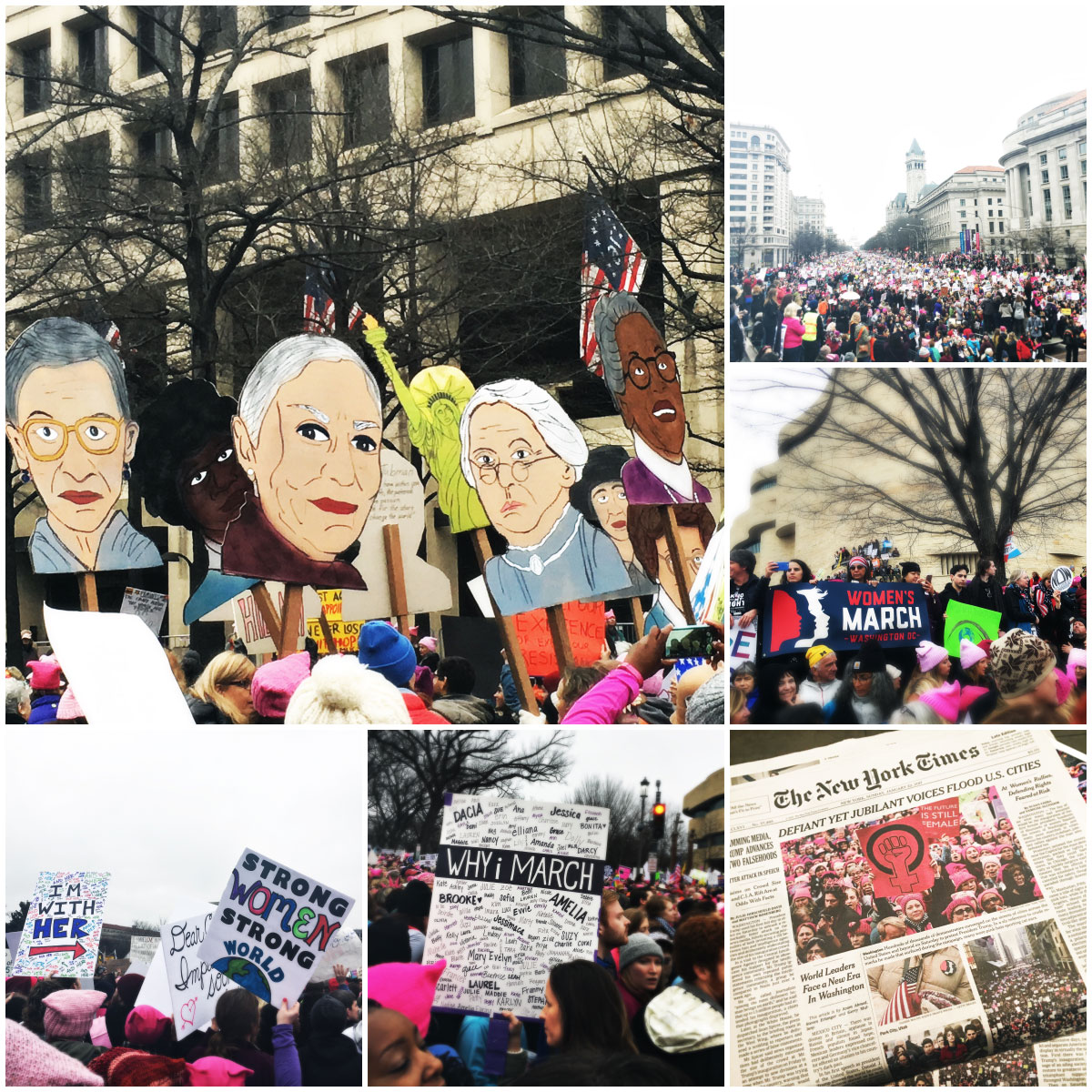 Photos from the 2017 Women's March in Washington, D.C.