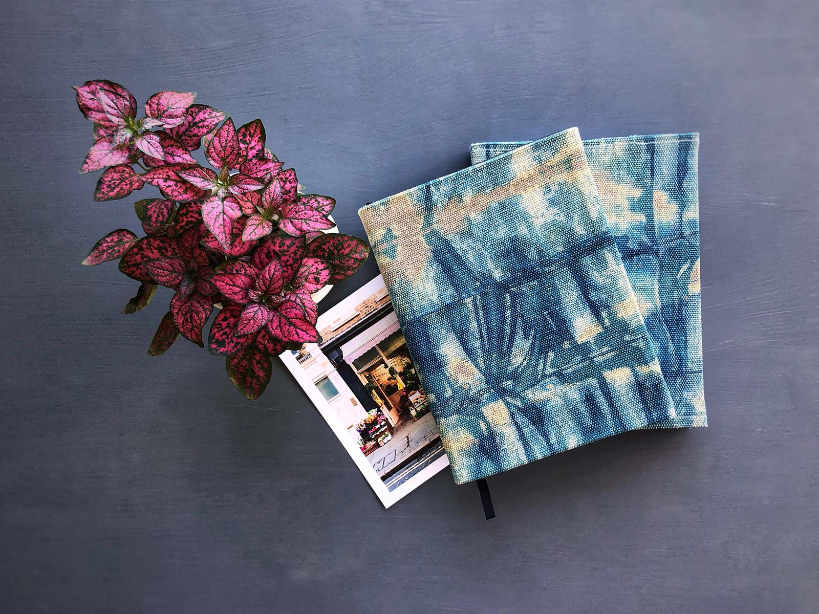 Shibori Week - DIY Journal Covers